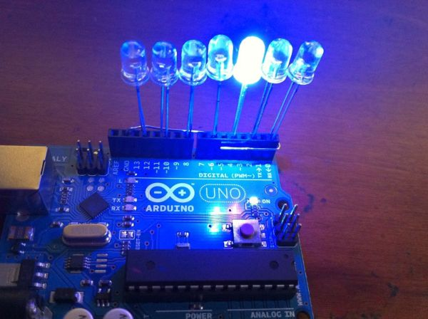 8x8x8 LED Cube with Arduino Mega Sound PS