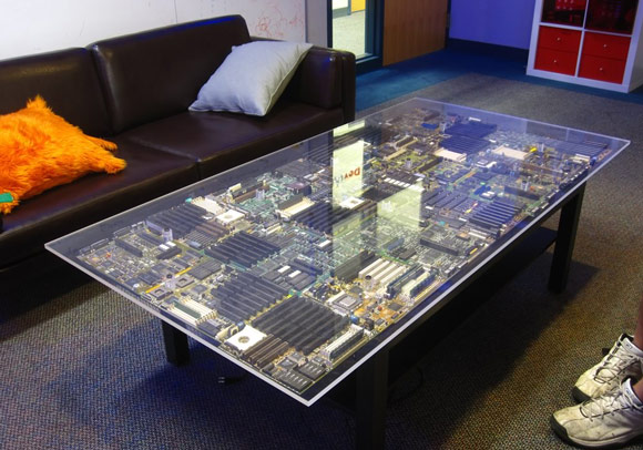 DIY Circuit Board Table Decor SainSmart